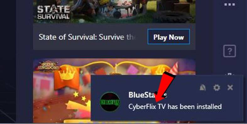 Cyberflix for PC installed 4