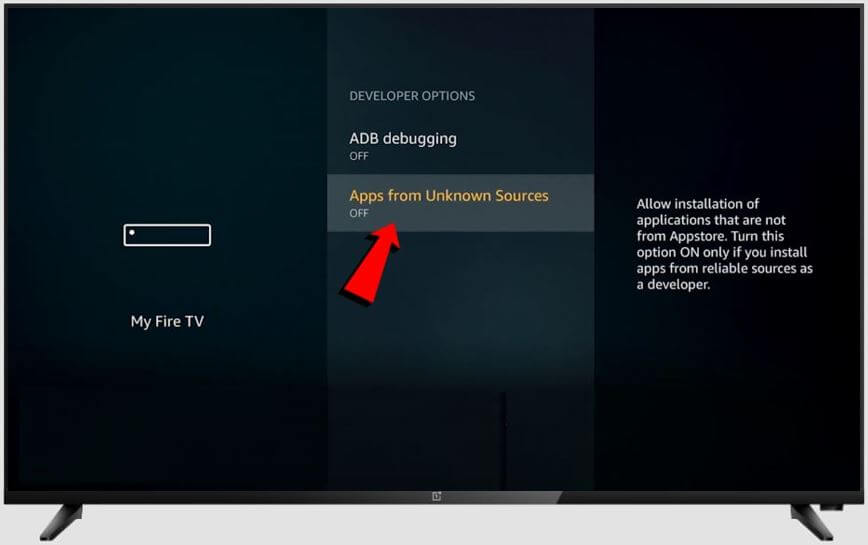 apps from unknown sources in firestick 3